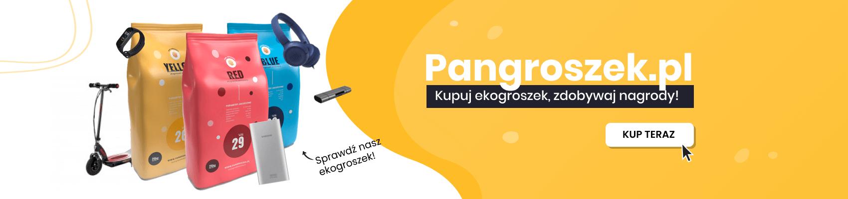 Ekogroszek workowany - Małopolskie
