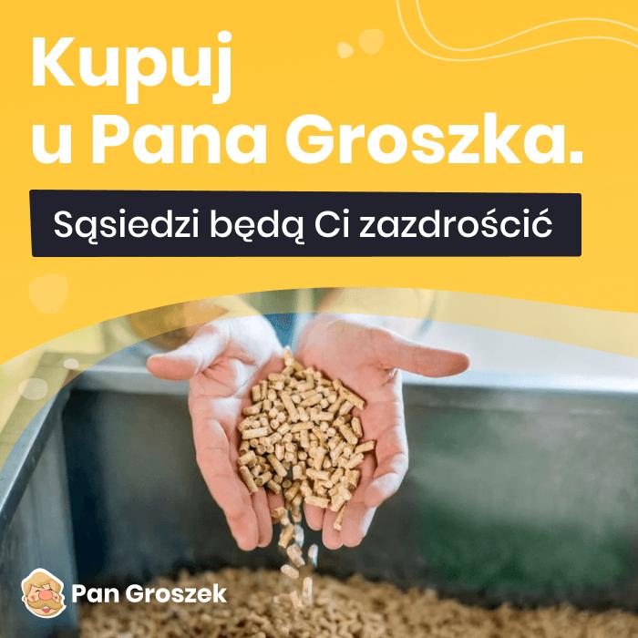 pellet Pan Groszek